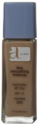 Foundation Makeup | Almay Line Smoothing Makeup with SPF 15 Neutral 220 1 oz *** Click image for more details.(It is Amazon affiliate link) #shoutouts