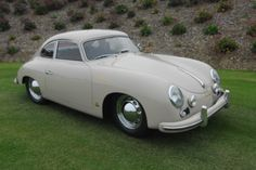 1955 Porsche 356 Continental Super Maintenance of old vehicles: the material for new cogs/casters/gears/pads could be cast polyamide which I (Cast polyamide) can produce