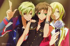 07 Ghost - Teito with Hakuren and Mikage. I wish Hakuren had gotten to meet Mikage