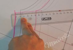 Mamahoch2: Blogjubiläum Tag 5 - Wie bekommt man ein Schnittmuster in die Wunschgröße?