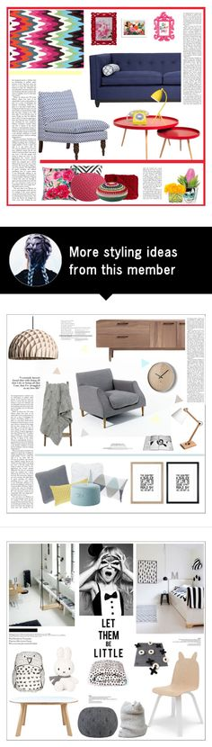 """""""Untitled #2387"""" by liliblue on Polyvore featuring interior, interiors, interior design, home, home decor, interior decorating, Kim Salmela, nuLOOM, Christian Lacroix and Designers Guild"""