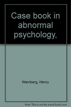 reflection paper on abnormal psychology Written assignments designed to integrate course material into personal experience, such as case studies, reflection paper etc attendance at, or participation in lectures, workshops, or other community or campus events related to the field of abnormal psychology.