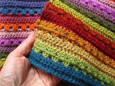 Ravelry: Cosy Stripe Blanket pattern by Lucy of Attic24