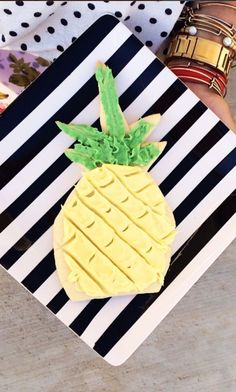 Pineapple Frosted Sugar Cookie