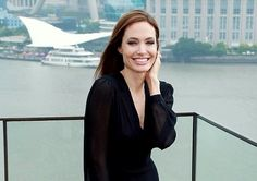 Angelina's Killer Louboutin Heels on the Maleficent Press Tour