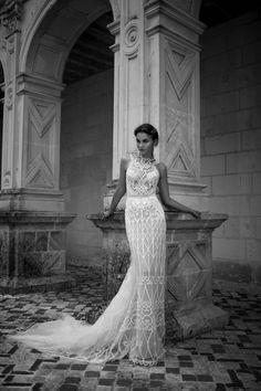 "Alon Livne White - 2016 Collection - ""Aria"" dress."
