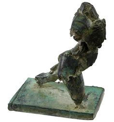 Henry Neuman, Brutalist Bronze Sculpture, USA, 20th Century | From a unique collection of antique and modern sculptures at https://www.1stdibs.com/furniture/decorative-objects/sculptures/