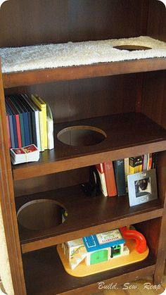 Bookcase Cat Climber