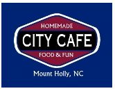 Comfort food. Cold Beer.  City Cafe, Mount Holly, NC