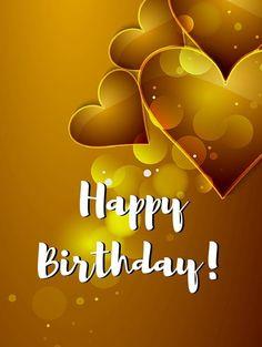 Happy Birthday - Love