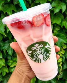check our new website http://ift.tt/1f5JlBb @starbucks secret menu Strawberry Acai Refresher with coconut milk  @jennqofficial introduced me to this and every time we go to Starbucks together and I post this on Snapchat it gets tons of screenshots so I figured I'd share it with you guys  TRY IT! Tastes like strawberry yogurt and it's pink  : @dailyfoodfeed : @starbucks #: #dailyfoodfeed : Snapchat dailyfoodfeed  TAG YOUR FRIENDS  by dailyfoodfeed