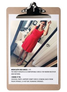 My fave Modcloth Dresses #modcloth #dress #red