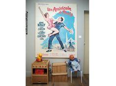 Affiche vintage chambre enfant