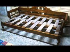 Handmade sofabed - YouTube