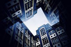 Fotografia analógica de Hackesche Höfe em Berlin por Jorge Sato. | Analog photography of Hackesche Höfe in Berlin by Jorge Sato.