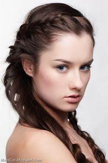 10 Easy Hairstyles for School ~ Cute Girl Hairstyles