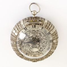 Pocket Watch and pair case by Pierre Paris, in Nantes, France, late 17th century.