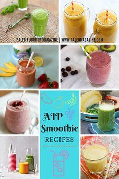 AIP Smoothie Recipes #aip #smoothie #recipes https://paleomagazine.com/aip-smoothie-recipes/