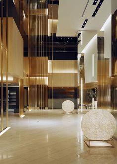 Levels in Atrium - Precedent for Sheraton Tbilisi  Curiosity - ANA Crowne Plaza Osaka