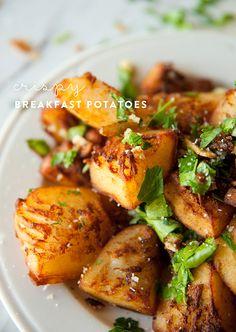 breakfast potatoes recipe via The Kitchy Kitchen on LaurenConrad.com