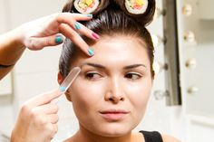Karla Powell Make-up Artist — How to Eye Brow Block & How I Created My Sushi Make-up Look Step-by-Step in Pictures...