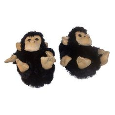 Black monkey shaped slippers that both will fit kids and adults. If you love monkeys and warm feet then these monkey slippers is what you need. Funny Slippers, Kids Slippers, Womens Slippers, Fashion Slippers, Pet Monkey, Exercise For Kids, Animals For Kids, Funny Tshirts, Animales