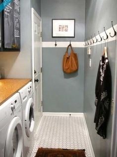 Turn your coat closet into a mudroom with the addition of a shoe rack, shelves, hooks and a bench. Description from http://pinterest.com. I searched for this on bing.com/images