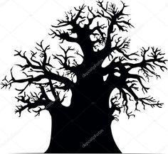 """Résultat de recherche d'images pour """"baobab vecteur"""""""