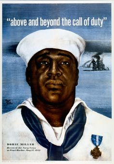 Dorie Miller, War HeroAt 7:48 am on December 7, 1941, Japanese fighter planes and bombers began their surprise attack on the US Naval base at Pearl Harbor in Hawaii. In two waves of attack, the Japanese sunk 4 battleships, as well as damaged 4 more...
