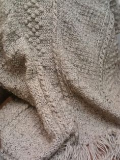 Aran Comfort - Best of Terry Kimbrough Afghans.  I love crocheting this afghan and have made three for family members, so far.