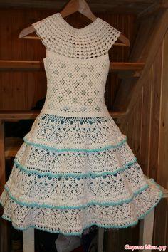 """Платье для Белоснежки, по мотивам """"Снежинки"""""""