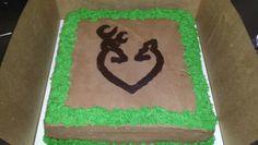 Deer Heart Grooms Cake