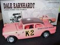 Free S/H Dale Earnhardt 1956 Pink K-2 Ford 1/24 Action