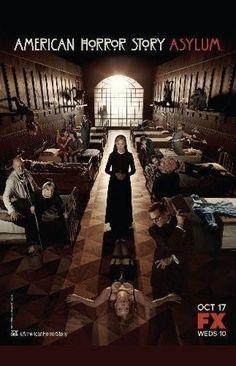 American Horror Story Asylum Poster Standup 4inx6in