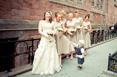 Right after the ceremony. St. James Church, Madison Ave, NYC