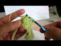 This is how the walnut stitch is made, from the beginning. Please, subscribe for more tutorials such as this.