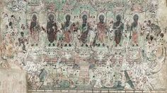 「dunhuang cave 220」的圖片搜尋結果 - imige search result - see: http://paidcontent.smh.com.au/agnsw/art-gallery/article/pure-land-inside-mogao-grottoes-dunhuang/ and https://sites.fas.harvard.edu/~hsa13/tutorials/slideshows/dunhuang/dh_p8.html