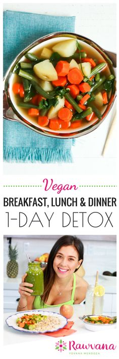 A detox doesn't need to be a long, drawn-out process. What if I told you that you can detox in just ONE DAY? | One Day Vegan Detox