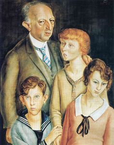 Otto Dix - Family Portrait (Glaser Family)