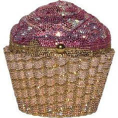 Judith Leiber Strawberry Cupcake Clutch Just like the one in the Sex and the City movie!