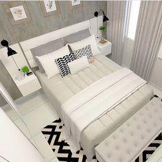 The Best 2019 Interior Design Trends - Interior Design Ideas Living Room Interior, Home Decor Bedroom, Living Room Decor, Home Room Design, Bed Design, Couple Room, Cute Room Decor, Dream Rooms, House Rooms