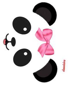 Panda Themed Party, Panda Birthday Party, Owl Quilt Pattern, Cute Panda Wallpaper, Panda Baby Showers, Baby Shower Templates, Panda Wallpapers, Panda Art, Mask For Kids