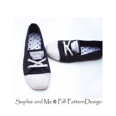 Ravelry: Sneaker Classics Ballerina version by Sophie and Me-Ingunn Santini