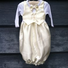 Baby boy Dedication christening baptism Easter church gown and hat on Etsy, $75.00