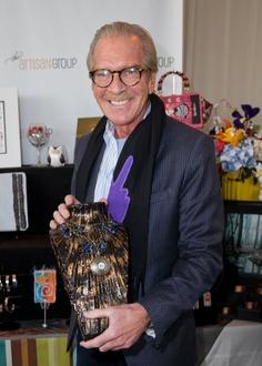 "Pat O'Brien of ""Access Hollywood"" with Sahetah's Jewelry."