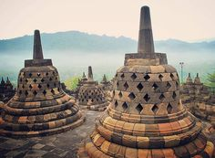 Dawn at Borobudur Temple brings out a different kind of experience for visitors and photographers.  Known as one of the most beautiful historical temples in the world Candi Borobudur is a must visit for anyone heading to Jogjakarta in the center of Jawa Island. A good tip is to visit on a weekday. . . . . . #borobudur #jawa #travel #indonesia #trioofwonders #wonderfulindonesia . . . David Hogan, Borobudur Temple, Instagram Travel, Temples, Dawn, Singapore, Photographers, Most Beautiful, Bring It On
