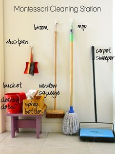 Montessori Cleaning