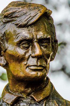 Young Lincoln, Debate Square, Freeport IL