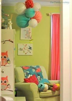 Children's room http://www.apartmenttherapy.com/lily-graces-personalized-space-my-room-186541?img_idx=1