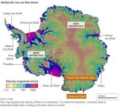 Scientists have seen evidence for a colossal flood under Antarctica that drained 6bn tonnes of water, quite possibly straight to the ocean.